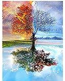 لوحة ماسية خماسية الابعاد ذاتية الصُنع باستخدام عدد من الادوات لصناعة الصور والاعمال الفنية المنقوشة باحجار راين كريستال…