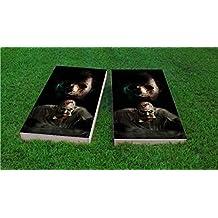 Custom Made 2x4 Cornhole Game Set, 500+ Designs Available, 2x4, ACA, Wood, Handmade in the USA