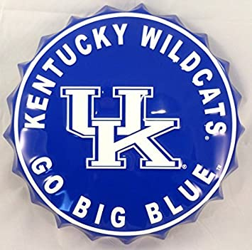 University Of Kentucky Bottle Top Sign by Hanna's Handiworks