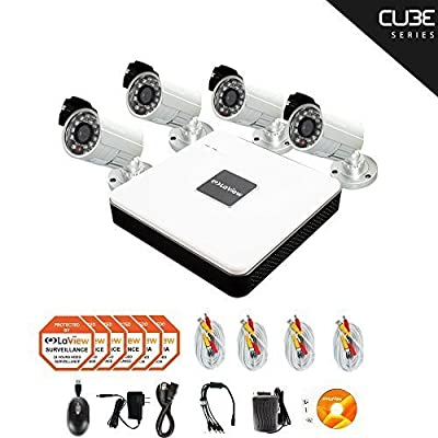 LaView 4 Channel Compact Surveillance System with Cloud Storage