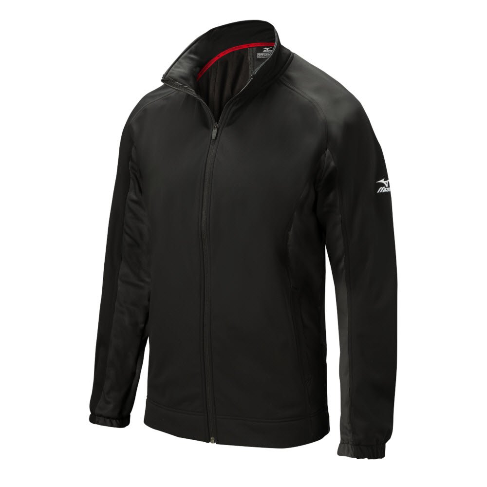 Mizuno 350554.9090.05.M Pro Thermal Jacket M Black by Mizuno (Image #1)