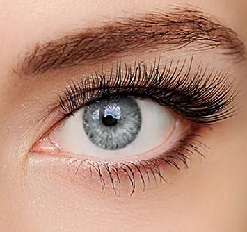 verschiedene Arten von Bestbewertet authentisch erstklassig ELFENWALD farbige Kontaktlinsen, 3 - Monatslinsen, INTENSE EISGRAU  HELLGRAU, stark deckend, natürlicher Look, maximaler Tragekomfort, ohne  Stärke, 1 ...