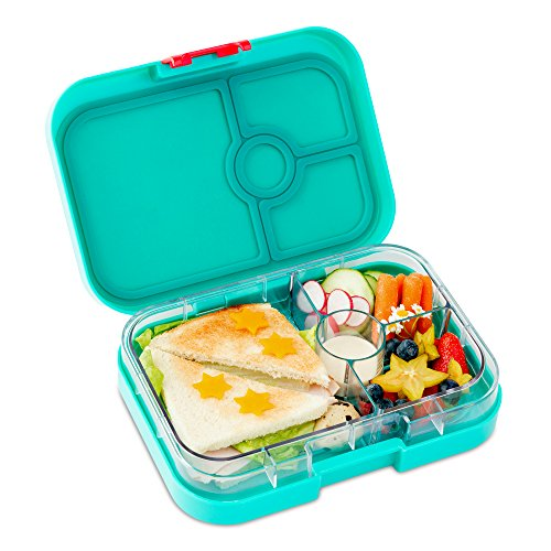 yumbox aqua turquoise leakproof bento lunch box container for kids and adults buy online in. Black Bedroom Furniture Sets. Home Design Ideas