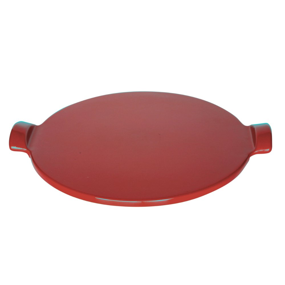 Emile Henry Made In France Flame Individual Pizza Stone, 10'', Burgundy