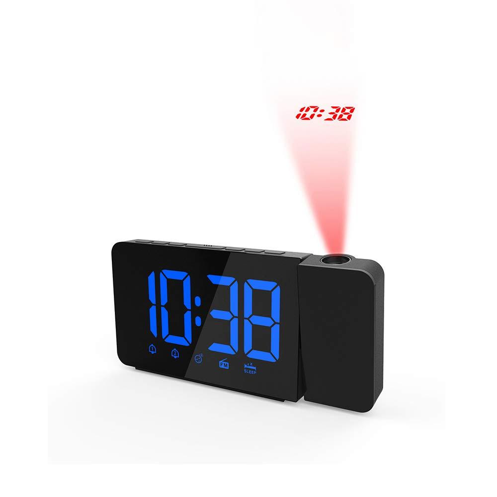 John-L Despertador Proyector, Radio FM Reloj De Proyección ...