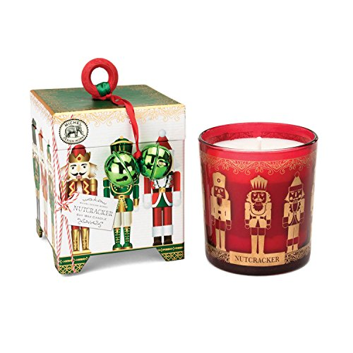 - Michel Design Works Gift Boxed Soy Wax Candle, 6.5-Ounce, Nutcracker