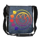 Memoy Unisex Leisure Messenger Bag American Rock Band Work Travel Bag