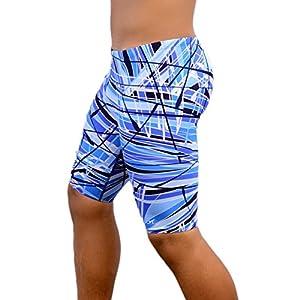 Adoretex Boy's/Men's Pro Athletic Jammer Swimsuit Swim Shorts