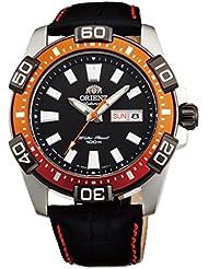 ORIENT Marine Sporty Automatic 100M Watch Orange EM7R005B