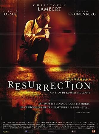 Resurrection Poster Movie French 11 x 17 In - 28cm x 44cm Christopher Lambert Robert Joy