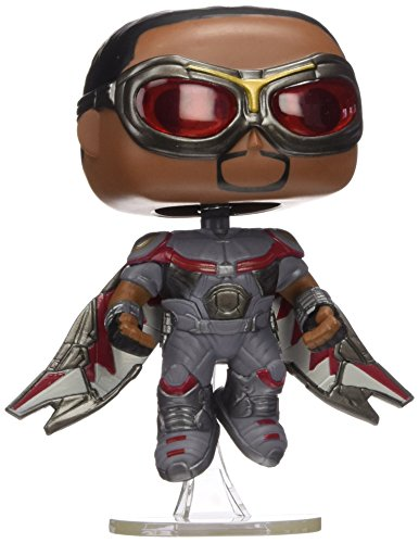 Funko Pop! Marvel Captain America Civil War Falcon #127 (Exclusive) (Pop Captain Marvel Funko America)