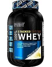 Evlution Nutrition 100% Whey Protein, 25 g de Protéines de Lactosérum, 6 g de BCAA, 5 g de Glutamine, Sans Gluten, 908 g (Crème Glacée à la Vanille)