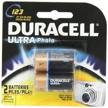 Amazon.com: dura2pk 1,5 V 123battery: Electronics
