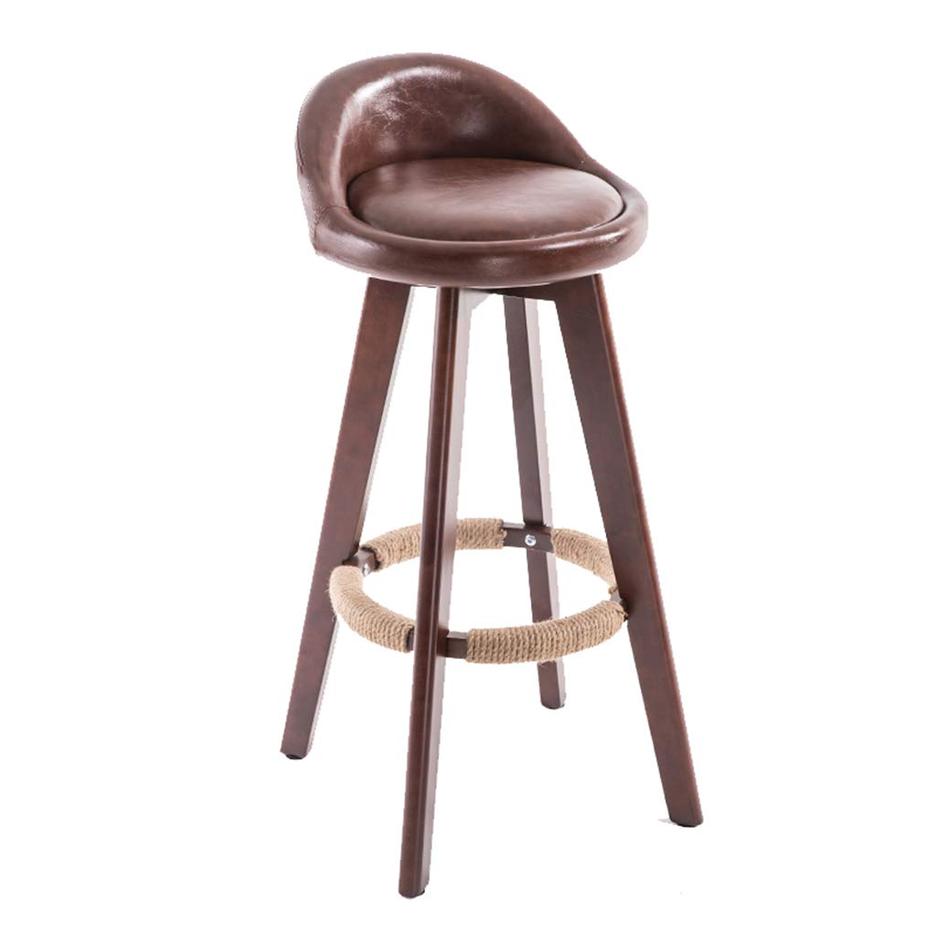 11 83cm Leisure Dining Chairs Nordic High Stool Modern High Stools Simple Bar Chairs Bar Stools for Breakfast Bar Pub Counter Kitchen Home Indoor Cafe