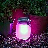 SUCK UK Solar Sun Jar - Pink