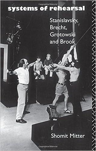 Systems of Rehearsal: Stanislavsky, Brecht, Grotowski, and Brook