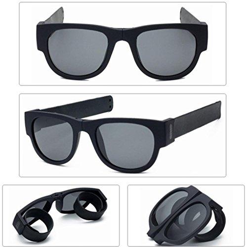 Letdown Fold Up Motorcycle Goggles Biker Sunglasses (Black) (General Motors Multi Kit)