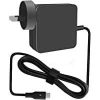 Llamatec 65W Type-C charger, 65W USB C charger with 1.8m (5.9ft) Light Up cord for Apple Macbook, Dell XPS, Xiaomi Air…