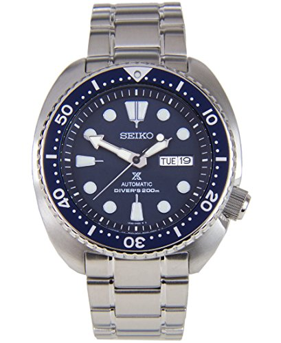 Seiko SRP773 Prospex Automatic Stainless Steel 200M Diver's Blue Dial Men's (200m Divers Watch)