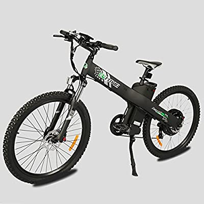 E-go Electric E Bike Hydraulic Brake 1000w 48v13ah Black Pedal Assist Moped