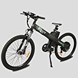 E-go Electric E Bike Hydraulic Brake 1000w 48v13ah Black Pedal Assist Moped