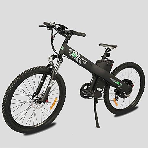 E-go Electric E Bike Hydraulic Brake 1000w 48v13ah Black Pedal Assist Moped Best Deal