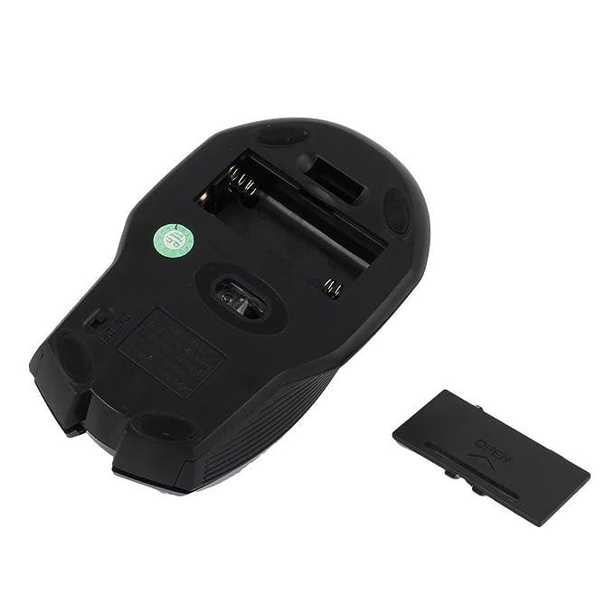 Amazon.com: eDealMax 5 botones 2000DPI ratón óptico USB inalámbrico ratones grises Para la PC del ordenador portátil Gamer: Electronics