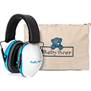 Safest Baby Ear Protection ~ Baby Ear Muffs Noise Protection ~ Infant Ear Protection Rated Safer than other Toddler Ear Protection, Baby Ear Plugs, and Child Noise Cancelling Headphones