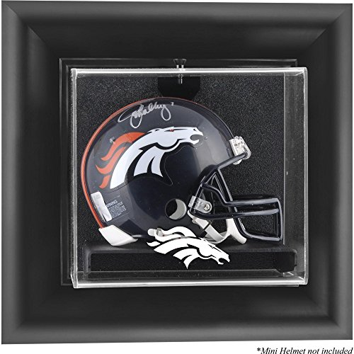 Mounted Memories Denver Broncos Wall Mounted Mini Helmet Display Case - Denver Broncos One Size