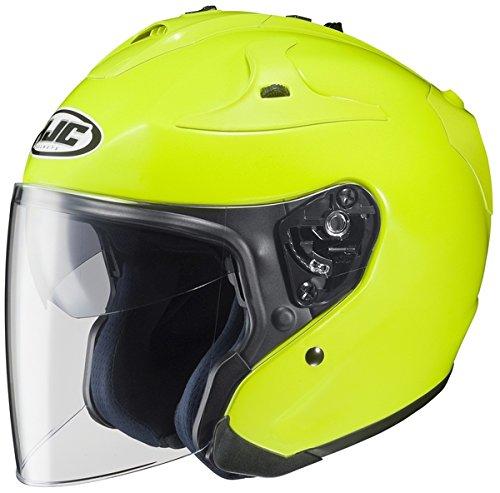 HJC FG-Jet Motorcycle Helmet Hi-Viz Yellow Size XX-Large