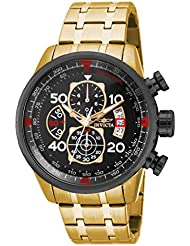 Invicta Mens 17206 AVIATOR Stainless Steel Casual Watch