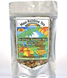De-Stress the Hawaiian Way Herbal Tea 20-cup bag • Gourmet Hawaiian loose leaf tea by Maui Rainbow Tea • Promotes relaxation, stress relief and aids sleep • Works as sleepy tea