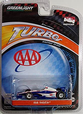 Dreamworks Turbo Racing Team 1:64 Scale Die-Cast Collectible AAA Indycar