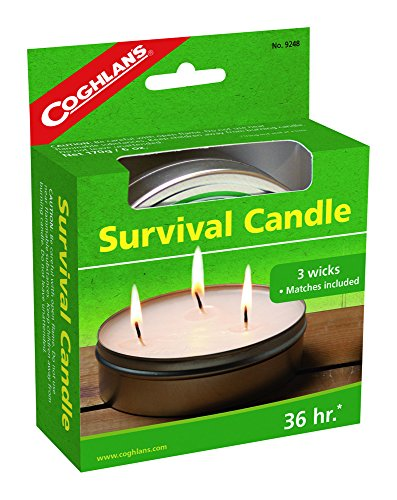 Price comparison product image Coghlan's 36-Hour Survival Candle, 6-Ounce