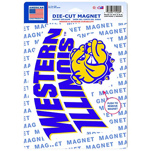 WinCraft Western Illinois Leathernecks Official NCAA 6