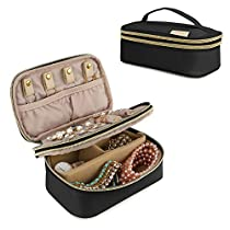 BAGSMART Travel Jewelry Case Organizer