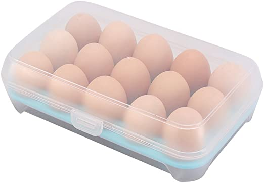 frigor/ífico empotrable de cualquier fabrikate 23 x 15 x 7 cm azul milopon Huevera Huevos estante para frigor/ífico Huevos Caja multifunci/ón caja caja de transporte nevera//congelador
