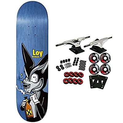 Birdhouse Skateboard Complete Loy Remix (ast) 8.38""