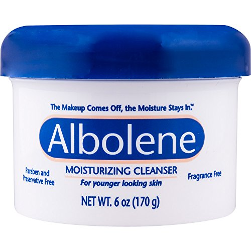 Albolene Moisturizing Cleanser | Removes Makeup While Keeping the Skin Hydrated and Healthy | Preservative and Fragrance Free | 6 Oz ()