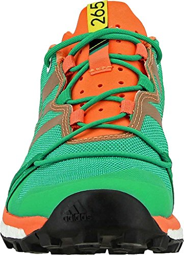 Adidas Terrex Agravic Scarpe Donna Trail Running 6.5 Core Green-black-easy Orange