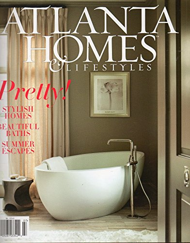 Atlanta Homes & Lifestyles Magazine July 2013 BATH BLISS: A MASTERFUL MIX OF MATERIALS AND AESTHETICS RESULTS IN A UNIQUELY STUNNING - Plaza Phipps