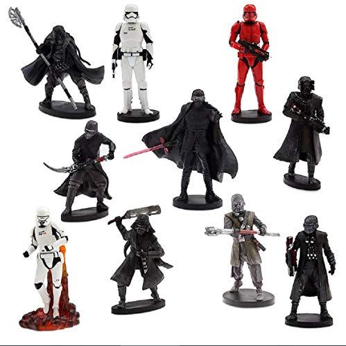 Disney Star Wars Exclusive Rise of Skywalker First Order Figurine PVC Figure Playset