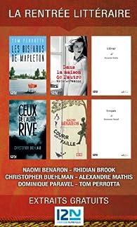 La rentrée littéraire de 12-21, l'éditeur numérique par Naomi Benaron