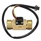 DN20 G3/4 Copper Water Flow Sensor Pulse Output 1.75Mpa 2~45L/min Flowmeter - Machinery Parts Other Accessories - 1x sensor