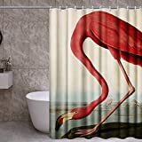 INVIN ART Bathroom Shower Curtain Set with