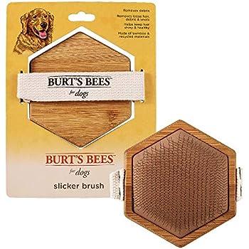 Burt's Bees for Dogs Palm Slicker Brush | Best Ergonomic Dog Brush To Reduce Shedding | Reduces Stress On your Wrist