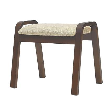 Astonishing Amazon Com Sofa Stool Ai Footstool Solid Wood Upholstered Dailytribune Chair Design For Home Dailytribuneorg