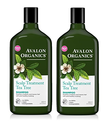 Avalon Organics Organic Massage Oil (Avalon Organics Tea Tree Scalp Treatment Conditioner 11 oz. (Set of 2))