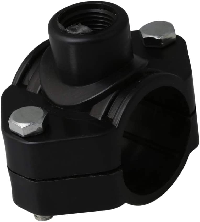 Mxfans Collier de serrage en plastique BSP 40 mm de diam/ètre avec vis de connexion