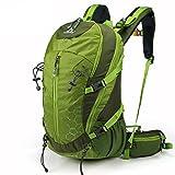 Cheap TOFINE Backpack Lightweight Daypack Waterproof for Internal Frame Backpacks Green 30L